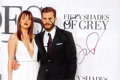 Shades of Grey 2 Dakota Johnson und Jamie Dornan Foto 20x30 original signiert
