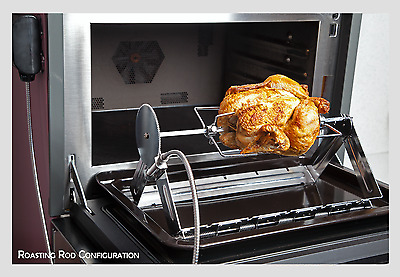 Quality Use Anywhere Rotisserie Grill Kitchen Oven & BBQ Barbecue All Year Use!