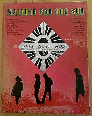 THE DOORS - WAITING FOR THE SUN - 1968 - special edition Songbook