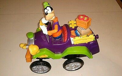 2000 Mattel Disney Goofy Driving Whacky Jalopy Truck R/c ( Working)