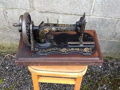 victorian singer sewing machine