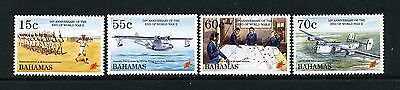 BAHAMAS   MNH    824-27   End of WW II      DR447