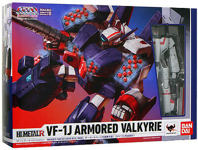 New! BANDAI HI-METAL R Macross VF-1J Armored Valkyrie F/S Japan with tracking