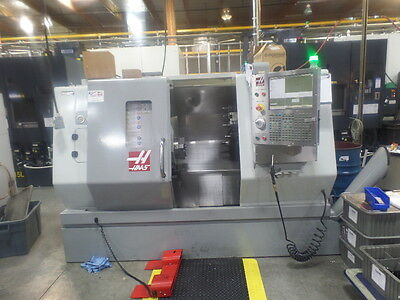 Used Haas SL-20T CNC Turning Center Lathe w/ tailstock Tool Setter chip aug '08