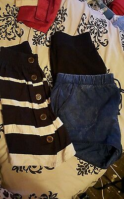 Ladies Shorts and Skirt Bundle Topshop River Island Topshop Size 12 14