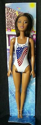 Olympic Swimmer Barbie 2016 Doll New