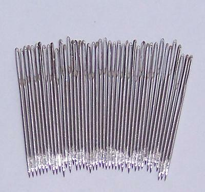 Size 18  Chenille Needles Nickel Plated-Really Sharp Points ,Assorted quantities
