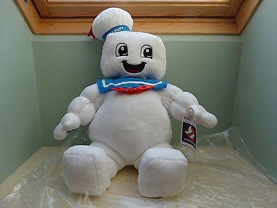 Build A Bear Ghostbusters Plush Stay Puft Man Carry Box Bnwt Smells Marshmallows