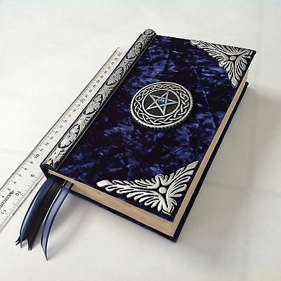 Book of shadows/blank spell book/Pagan journal Diary/Wiccan journal/ Cert # 223