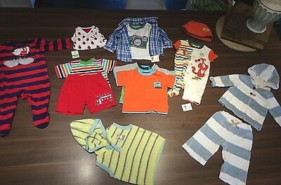 3-6 Months Boy Large Bundle Mostly New With Tags