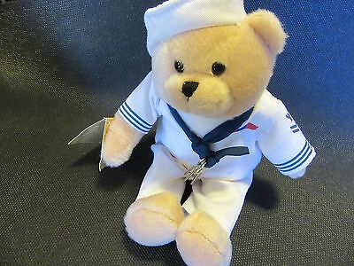 American Military Heroes Teddy Bear that plays Anchor's Aweight
