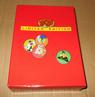 Tazo Limited Edition Boxed Set Of 50 Walkers Cartoon Characters