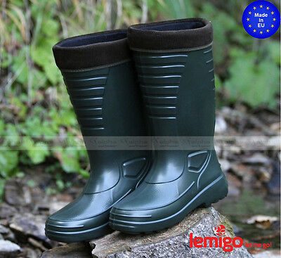 New EVA Insulated Thermal Fishing Boots Waterproof Ultra Lightweight Wellingtons