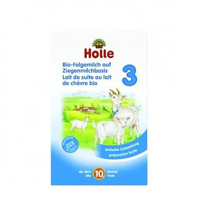Holle Organic Goat Milk Stage 3 (400g) FAST SHIPPING. Expires 04/2020