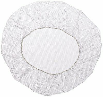 Keystone 109HPI-24-WH White Soft Heavyweight Nylon Honeycomb Hairnet with 1/16""