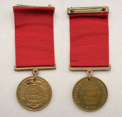 Navy Good Conduct Medal – named – service on USS Chicago 1936-39