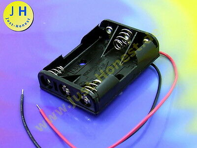 BATTERIEHALTER BATTERY HOLDER 3 x AAA ( R3 ) AKU BATTERY SOCKEL / SOCKET #A1791