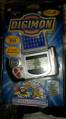 Digital Digimon Monsters - D Terminal - Sealed Mint Condition