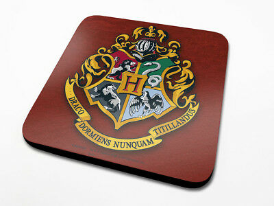Harry Potter : HOGWARTS CREST Coaster from Pyramid Set of 4