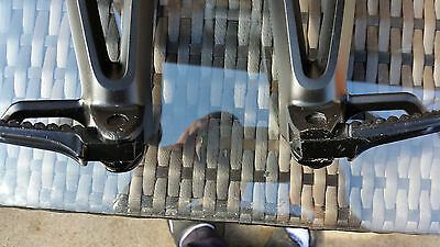 Suzuki GSXR 600 2006-2007 foot pegs pillion footrest