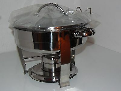 Great Gatherings Chafing Dish 3 Quart Stainless Steel  NWOT