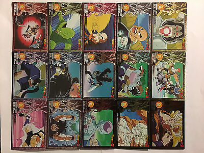 Dragon Ball Z Skill Card Collection PART 2 Full Set 45/45