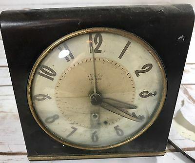 Vintage Westclox Big Ben Electric Alarm Clock Retro
