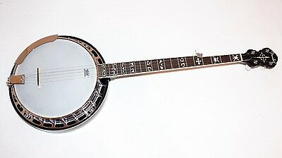 Fender FB-55 5-string Resonator Banjo w/ Case