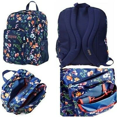JANSPORT BIG STUDENT LARGE STUDENTS BACKPACKS Multi Navy Mountain Meadow New