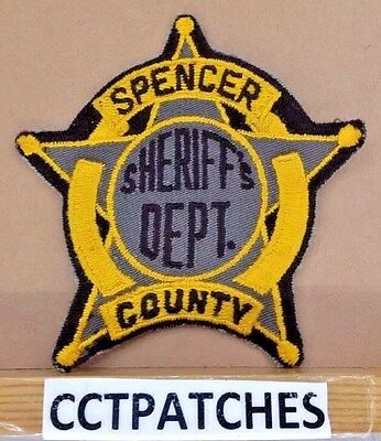 Spencer County, Kentucky Sheriff (Police) Shoulder Patch Ky