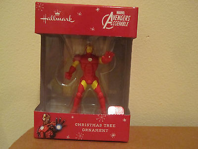 Hallmark Marvel Advengers Iron Man ornament Christmas holiday new tags