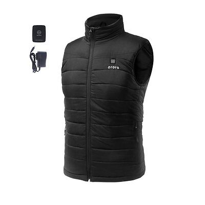 ORORO Mens Insulated Heated Down Vest XX-Large