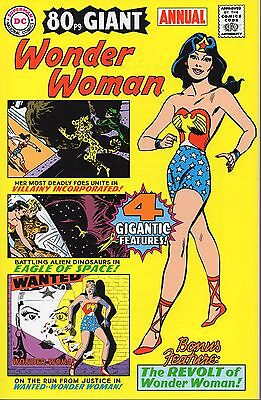 WONDER WOMAN 80pg GIANT ANNUAL 2002 DC NM 4 Reprints from 40's-50's