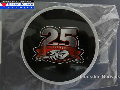 New Genuine Holden Racing Team 25TH Year Anniversary Button Badge Part HRT15.067