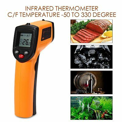 Portable Digital Infrared Thermometer Temperature Laser Gun Meter-50~330 ℃ YGDT