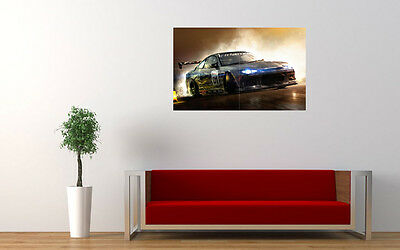 OPEL DRIFTING CAR POSTER Photo Picture Poster Print Art A0 A1 A2 A3 A4 AB391