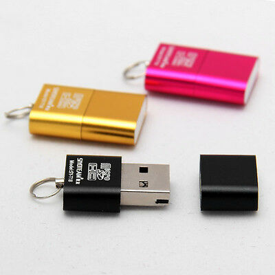 2015 High Speed Nice Mini USB 2.0 Micro SD TF T-Flash Memory Card Reader Adapter