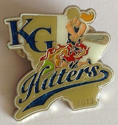 KG Hitters 2013 Large Womens Softball Pin Badge Rare Vintage (E2)
