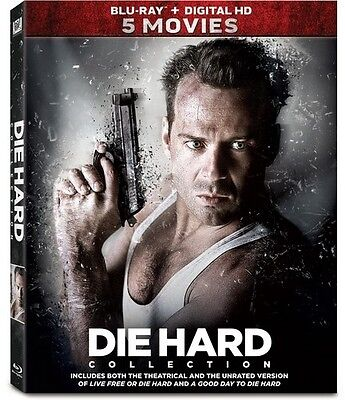 Die Hard 5-Movie Collection (2017, Blu-ray NEUF)