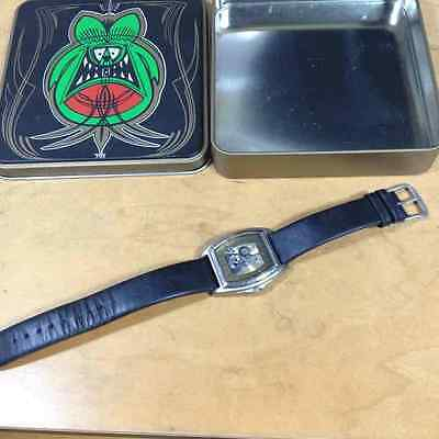 USED RAT FINK Ed Roth Big Daddy Wristwatch Limited Edition F/S