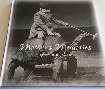 Mothers Memory For Her Son Record Book Brand New Album Keepsake Boy