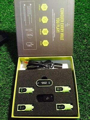 TI.ttle golf swing analyser NEW 4 Cradle Model EXCELLENT,distance,tempo,GPS etc