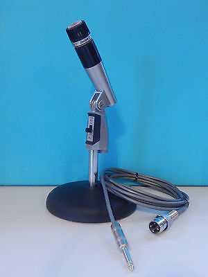 Vintage 1960S Era Shure 545S Series 2 Dynamic Microphone With Cable Works High Z