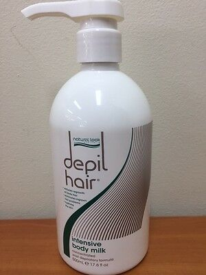 Hair Intensive Body Milk - Natural Look DEPIL HAIR 500ml