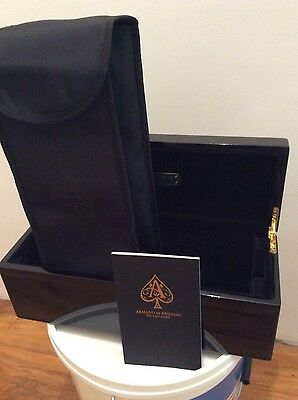 Armand de Brignac Champagne Gold 750ml Gift Box with Dust Cover & Booklet