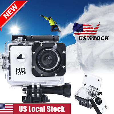 Mini 1080P Full HD DV Sports Recorder Car Waterproof Action Camera Camcorder New