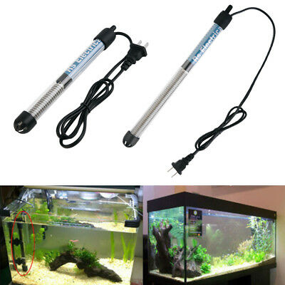 W~50W 100W 200W 300W Aquarium NEW Submersible Fish Tank Adjustable Water Heater#
