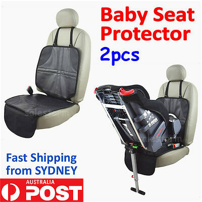 2x Car Seat Protector Auto Anti Slip Baby Infant Child Safety Cushion Cover AU