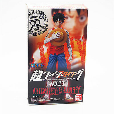 NEW One Piece Super Styling Figure 3D2Y Monkey D. Luffy Bandai Anime Japan