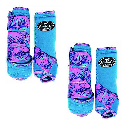 Professionals Choice Boots - Paradise Pacific - Medium Front & Hind 4 Pack